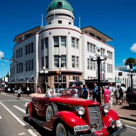 Napier City Cruise Ship Tour