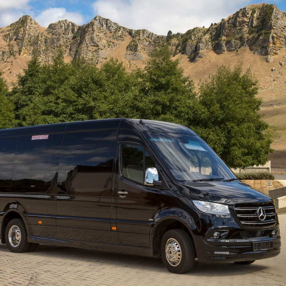 Mercedes Sprinter at Craggy Range